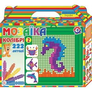 Іграшка мозаїка Колібрі 2 (222 деталі)