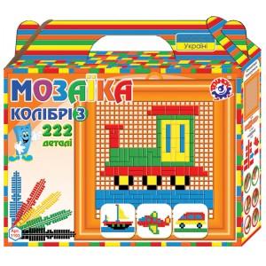 Іграшка мозаїка Колібрі 3 (222 деталі)