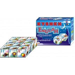 Іграшка кубики Абетка англійська