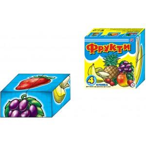 Іграшка кубики Фрукти
