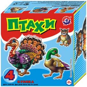 Іграшка кубики Птахи