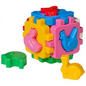 Іграшка куб Розумний малюк Свійські тварини