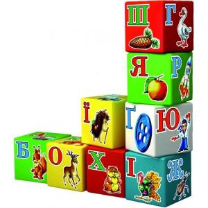 Іграшка кубики Абетка Веселка (рос.)