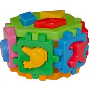 Іграшка куб Розумний малюк Гексагон 1