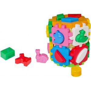 Іграшка куб Розумний малюк Конструктор