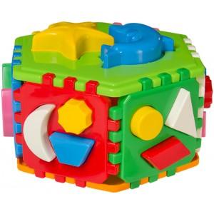 Іграшка куб Розумний малюк Гіппо