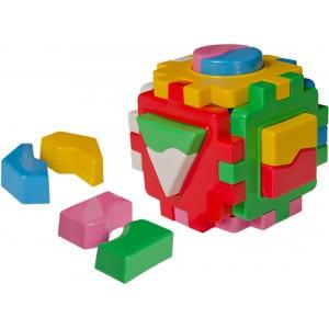 Іграшка куб Розумний малюк Логіка 1