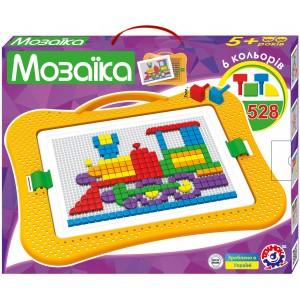 Іграшка Мозаїка 8 (геометричні фігури-528шт)