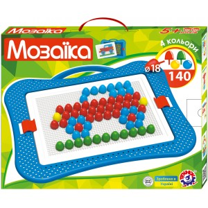Іграшка Мозаїка 6 (18мм - 140шт)