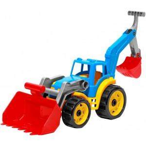 Іграшка Трактор з двома ковшами, арт. 3671