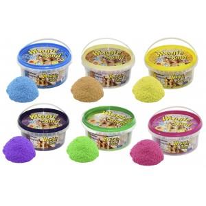 Песок 0,350 кг, МИКС 6 цветов