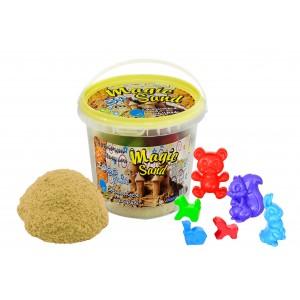 Magic sand светящийся класический в ведре 1 кг
