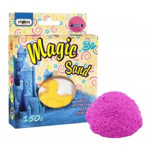 Magic sand розового цвета, с формочкой 0,150 кг