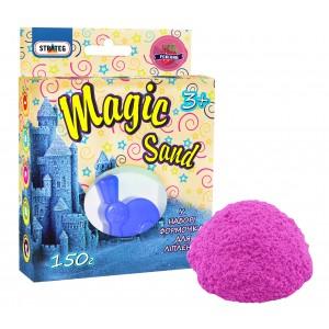 Magic sand розового цвета с ароматом клубники, 0,150 кг