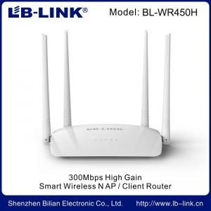 Роутер wifi LB-LINK BL-WR450H 300Mb 4*5dBi