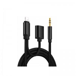 AUX JBC037 iP3.5mm+Lighthing & Audio