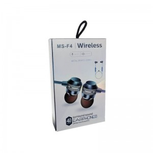 Bluetooth наушники Wireless MS-F4