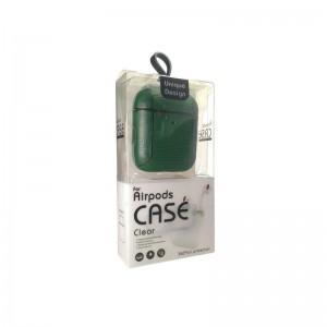 Чехол для Apple AirPods кожа в коробке - set 3