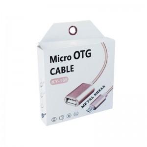 OTG кабель USB на Micro KY-168