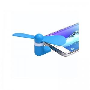 Портативный вентилятор для телефона Micro