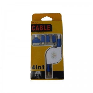 USB кабель Рулетка 4/1
