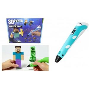 3D ручка MINECRAFT