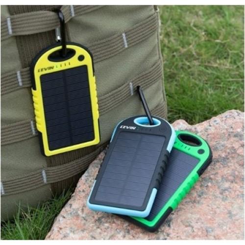 Аккумулятор внешний Power Bank 10000mAh Солнечная батарея
