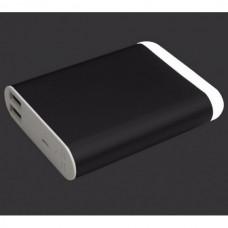 Аккумулятор внешний Power Bank 10400 mAh с LED фонарем