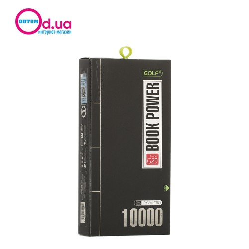 Аккумулятор Внешний Power Bank Golf G29 10000 mAh