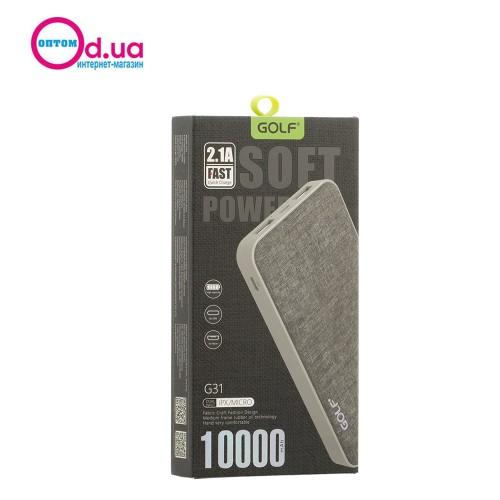 Аккумулятор Внешний Power Bank Golf G31 10000 mAh