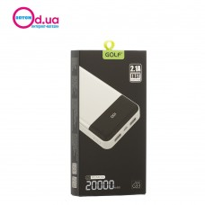 Аккумулятор Внешний Power Bank Golf G33 20000 mAh