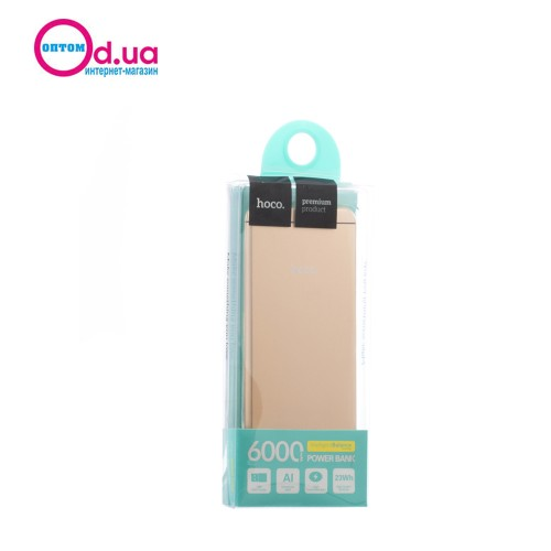 Аккумулятор Внешний Power Bank Hoco UPB03 I6 6000 mAh