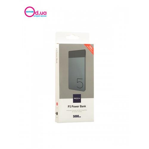 Аккумулятор внешний Power Bank ROCK P3 RMP0320 5000 MAH