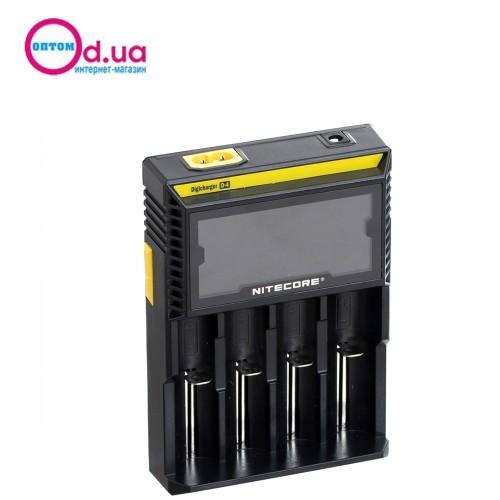 Универсальное зарядное устройство NiteCore D4