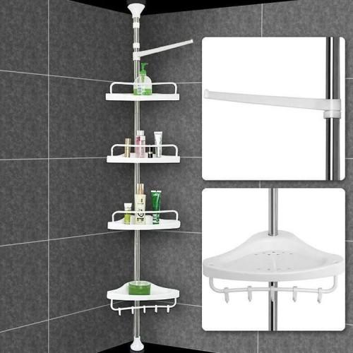 Угловая полка для ванной 3, 2 м
