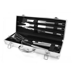 Набор для мангала BBQ Tools Set 37х13х7см AL-5, 10шт