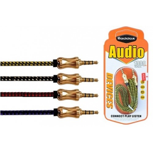 Аудио кабель 3.5mm RDX-200