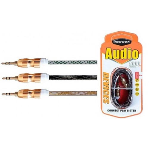 Аудио кабель 3.5mm RDX-205