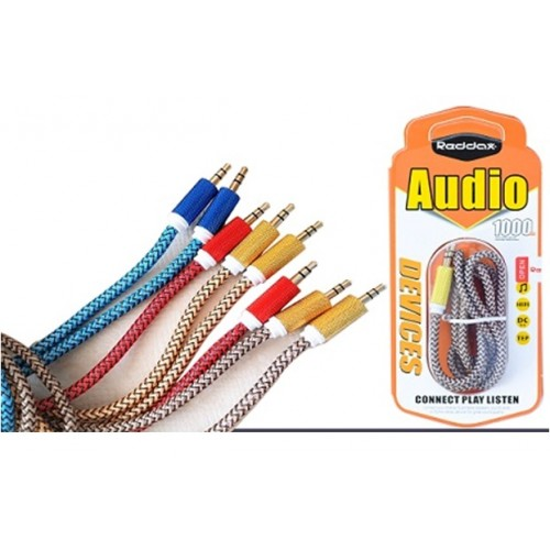 Аудио кабель 3.5mm RDX-211