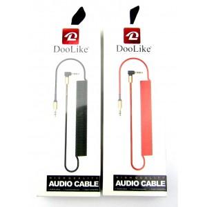 Аудио кабель спираль DooLike Jack 3.5mm