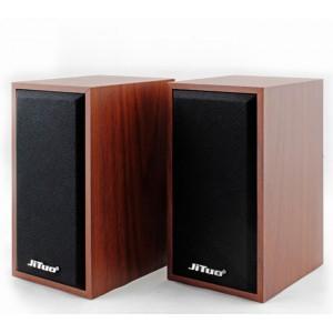 Комп'ютерна акустика JT-2801 2.0 3Вт х 2 (матеріал-дерево)
