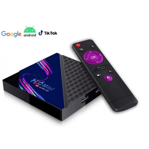 Smart TV Android 10 приставка H96 MINI V8 2/16