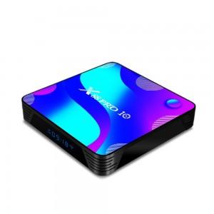 Smart TV Android приставка X88 Pro (10, 4/32, 2.4G/5G, video processing 10 bit, CPU 64bit, USB 3.0, 4K)