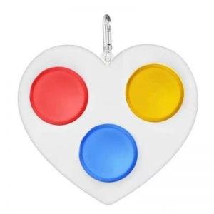 Игрушка антистресс Simple Dimple Сердце