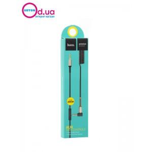 Аудио кабель AuX c микрофоном 2м HOCO UPA02