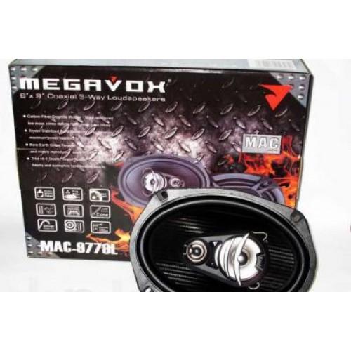 Автоакустика динамики Megavox Mac-9778l