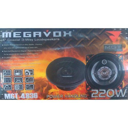 Автоакустика Megavox MGT-4836