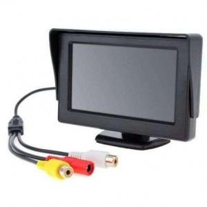 Дисплей LCD 4 3 для двух камер 043