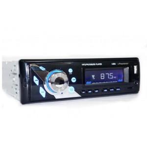 Автомагнітола 1DIN 1281 USB FM MP3 SD
