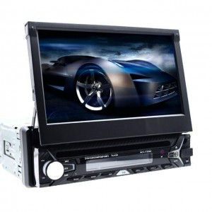 Автомагнитола 1DIN DVD-9506 Android GPS с выезжающим экраном